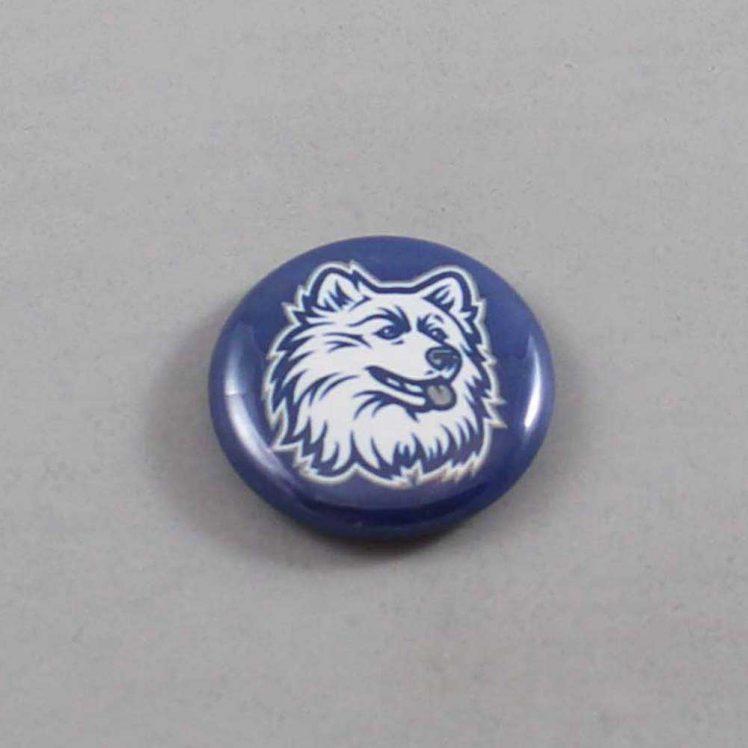 NCAA Connecticut Huskies Button 01