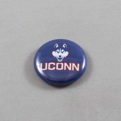 NCAA Connecticut Huskies Button 02