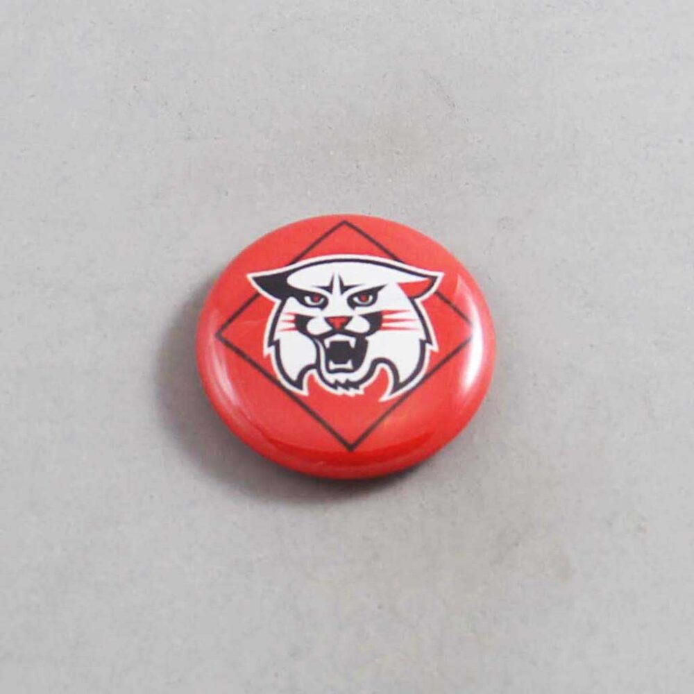 NCAA Davidson Wildcats Button 01