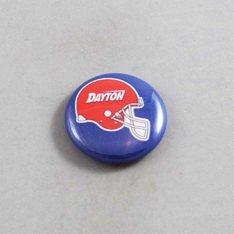 NCAA Dayton Flyers Button 02
