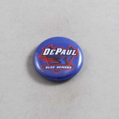 NCAA DePaul Blue Demons Button 01