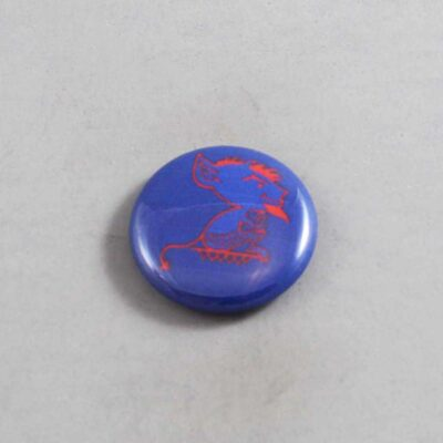 NCAA DePaul Blue Demons Button 02