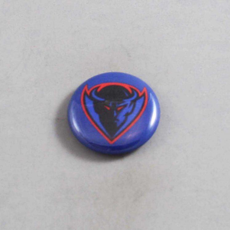 NCAA DePaul Blue Demons Button 04