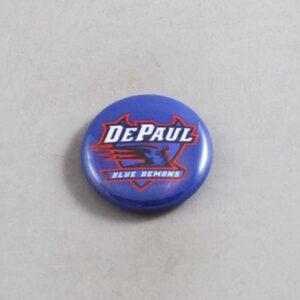 NCAA DePaul Blue Demons Button 05