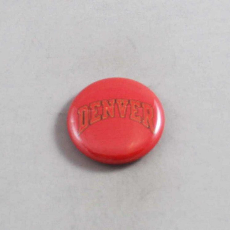 NCAA Denver Pioneers Button 01