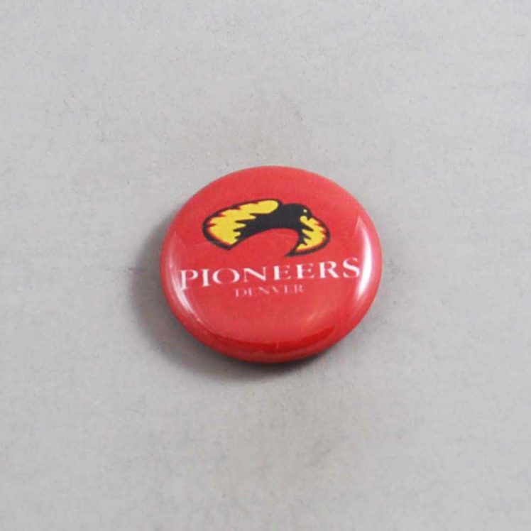 NCAA Denver Pioneers Button 03