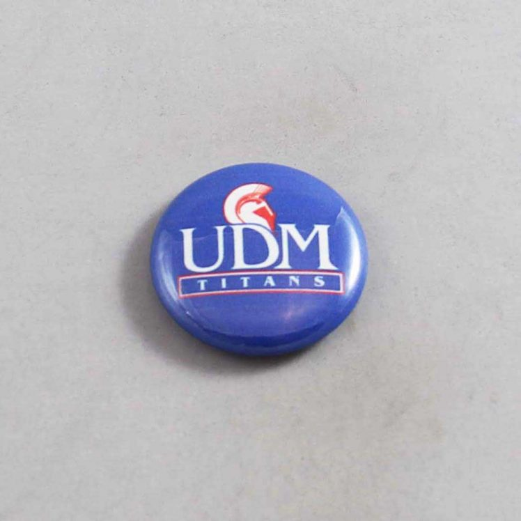 NCAA Detroit Mercy Titans Button 02
