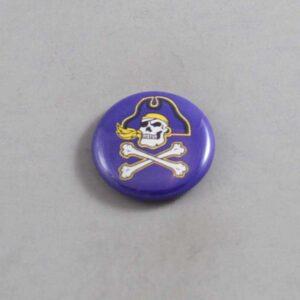 NCAA East Carolina Pirates Button 04