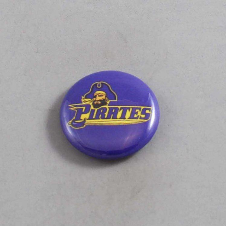 NCAA East Carolina Pirates Button 06
