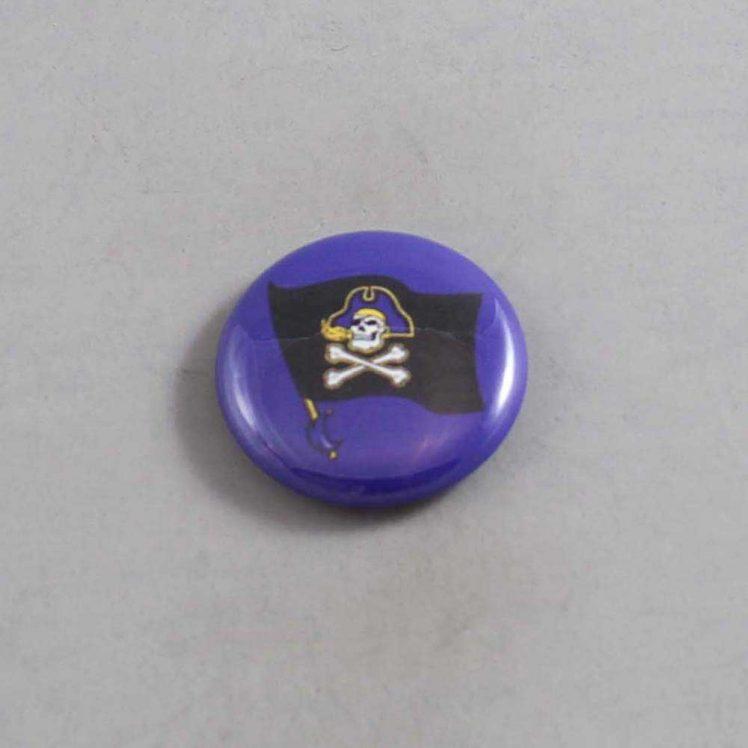NCAA East Carolina Pirates Button 08
