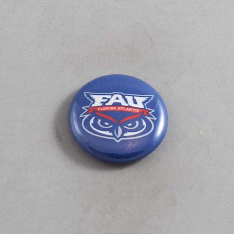 NCAA Florida Atlantic Owls Button 01