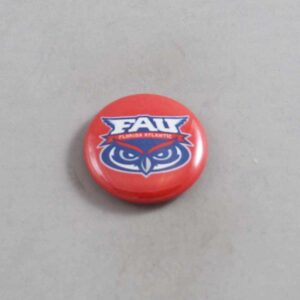 NCAA Florida Atlantic Owls Button 04