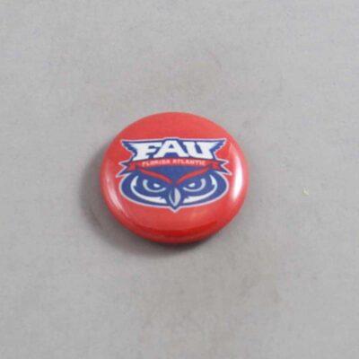 NCAA Florida Atlantic Owls Button 04