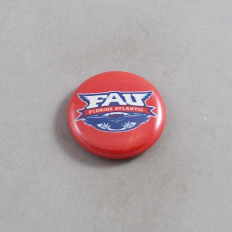 NCAA Florida Atlantic Owls Button 05
