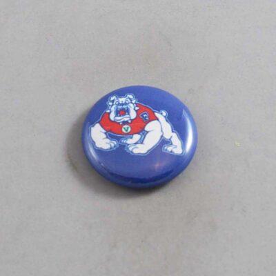 NCAA Fresno State Bulldogs Button 01