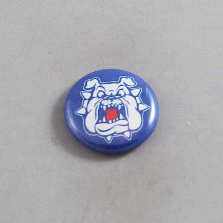 NCAA Fresno State Bulldogs Button 02