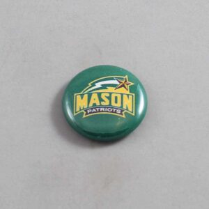 NCAA George Mason Patriots Button 01