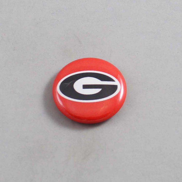 NCAA Georgia Bulldogs Button 03