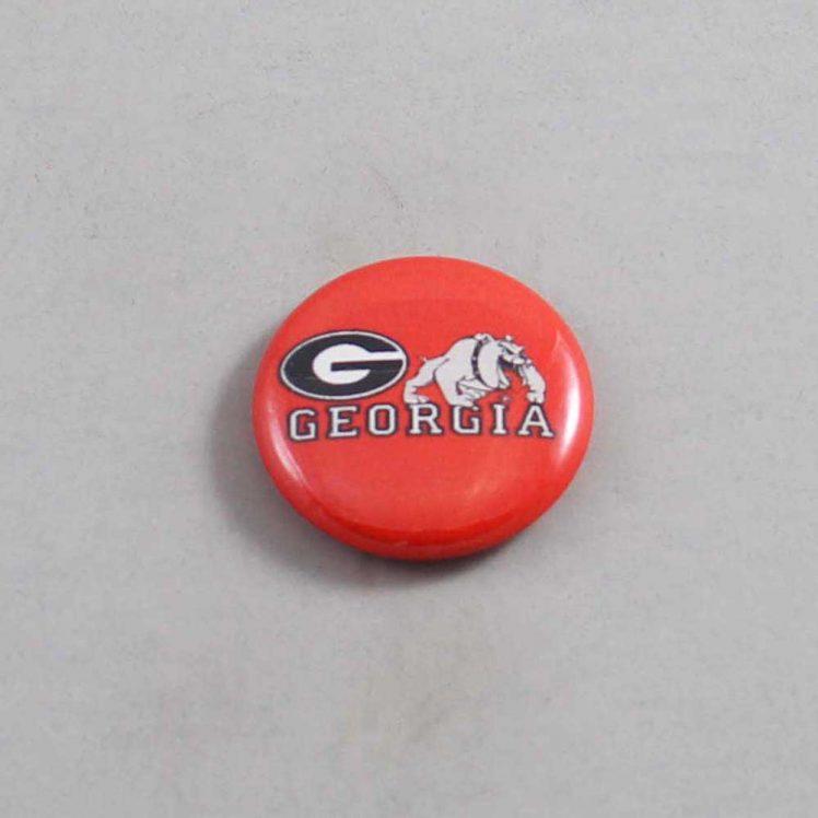 NCAA Georgia Bulldogs Button 06
