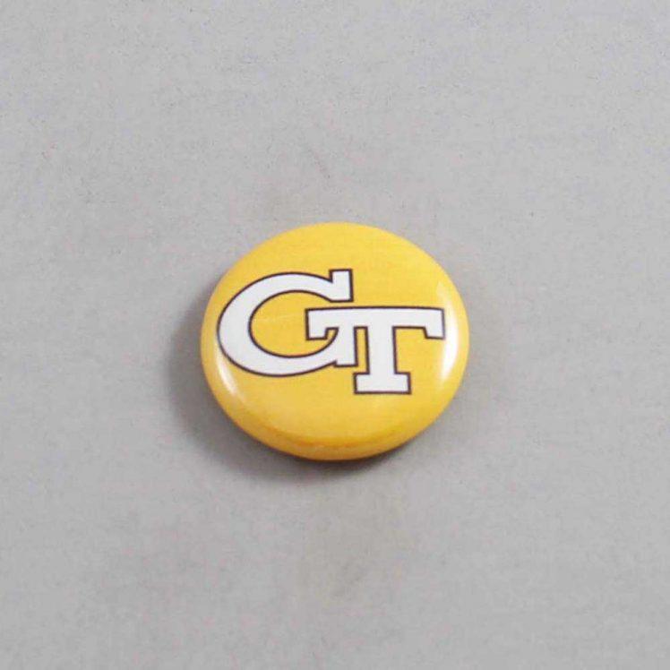 NCAA Georgia Tech Yellow Jackets Button 01