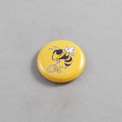 NCAA Georgia Tech Yellow Jackets Button 02