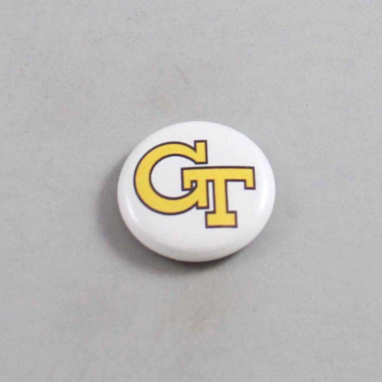 NCAA Georgia Tech Yellow Jackets Button 08