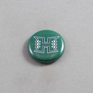 NCAA Hawaii Warriors Button 01