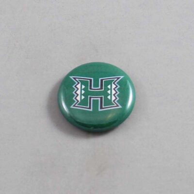 NCAA Hawaii Warriors Button 01