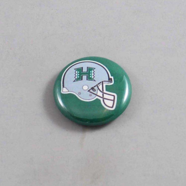 NCAA Hawaii Warriors Button 02