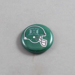 NCAA Hawaii Warriors Button 03