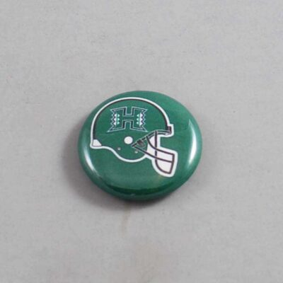 NCAA Hawaii Warriors Button 03