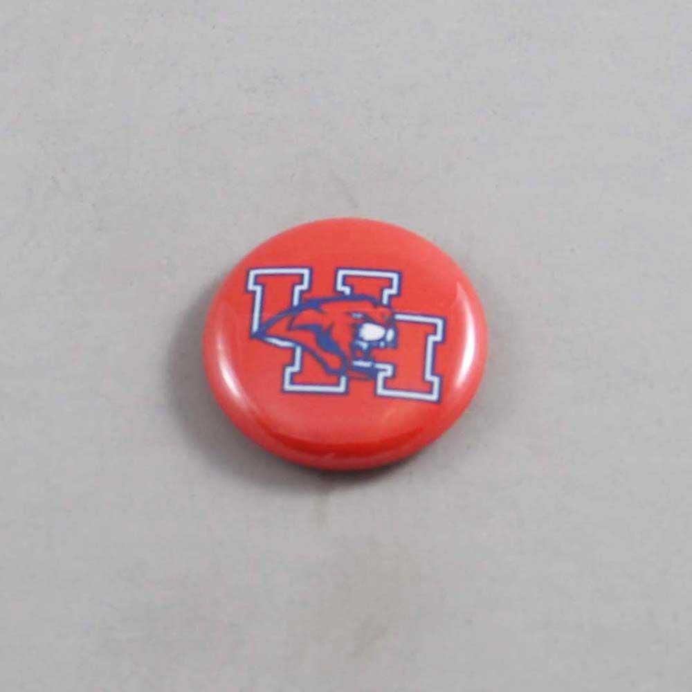 NCAA Houston Cougars Button 01