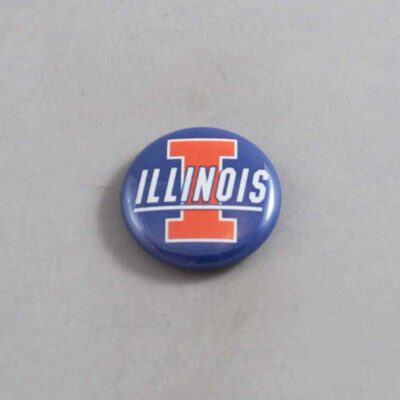 NCAA Illinois Fighting Illini Button 01