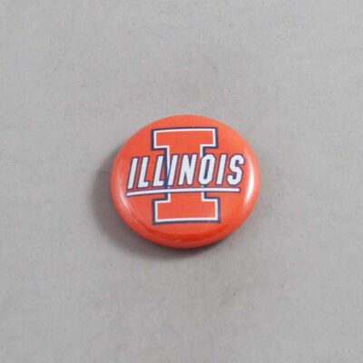 NCAA Illinois Fighting Illini Button 05