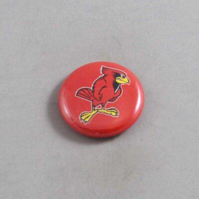NCAA Illinois State Redbirds Button 02