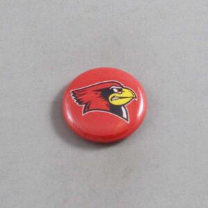 NCAA Illinois State Redbirds Button 03