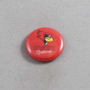 NCAA Illinois State Redbirds Button 04