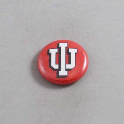 NCAA Indiana Hoosier Button 01