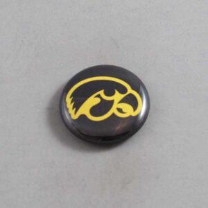 NCAA Iowa Hawkeyes Button 03