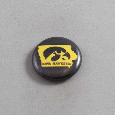 NCAA Iowa Hawkeyes Button 04
