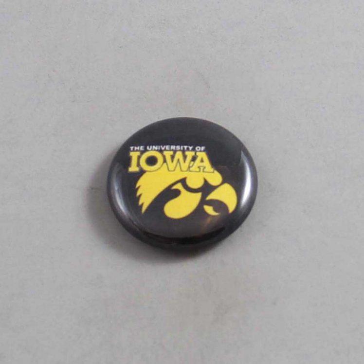 NCAA Iowa Hawkeyes Button 06