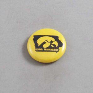 NCAA Iowa Hawkeyes Button 07