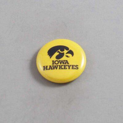 NCAA Iowa Hawkeyes Button 09