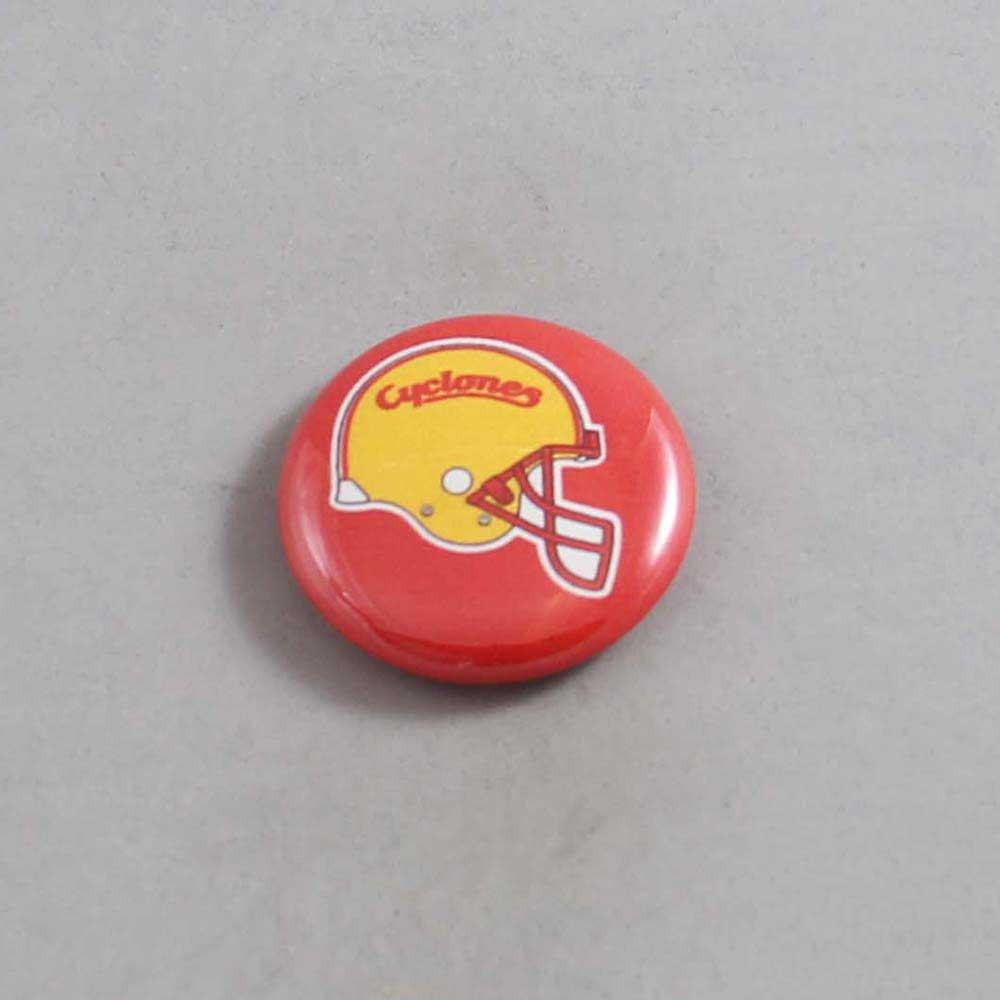NCAA Iowa State Cyclones Button 03