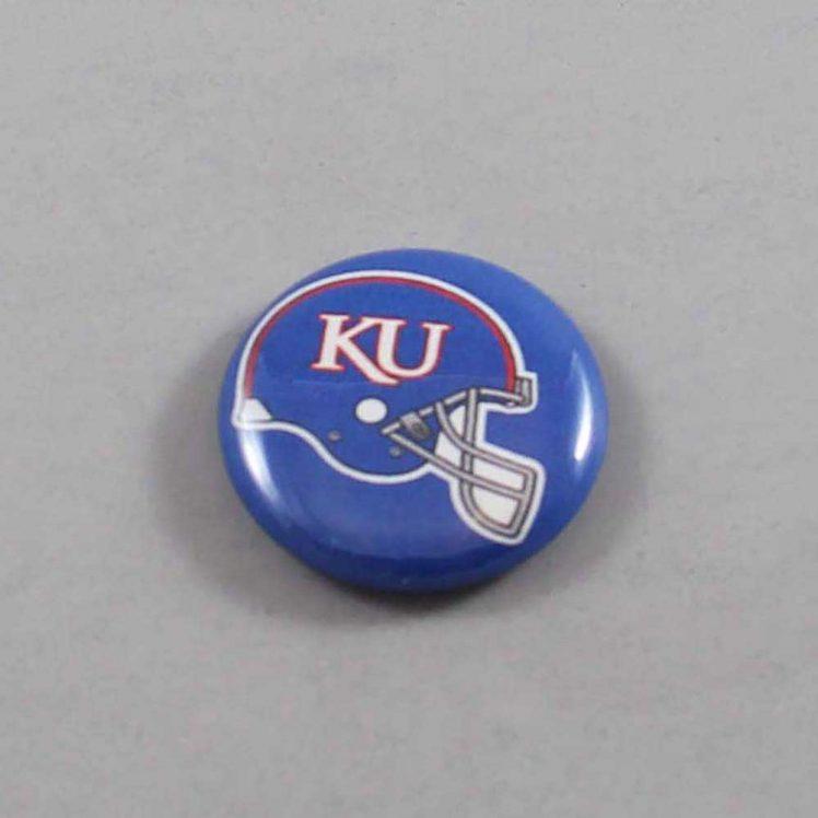 NCAA Kansas Jayhawks Button 02