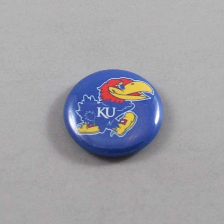 NCAA Kansas Jayhawks Button 04
