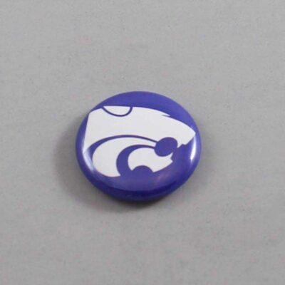 NCAA Kansas State Wildcats Button 03