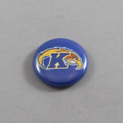 NCAA Kent State Golden Flashes Button 01