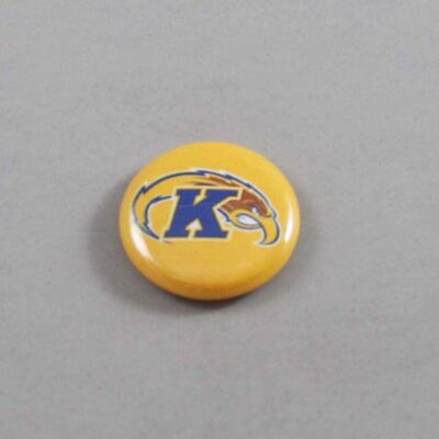 NCAA Kent State Golden Flashes Button 02