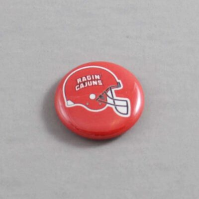 NCAA Louisiana Lafayette Ragin' Cajuns Button 01